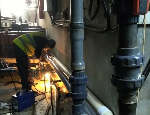 welding of pipeline